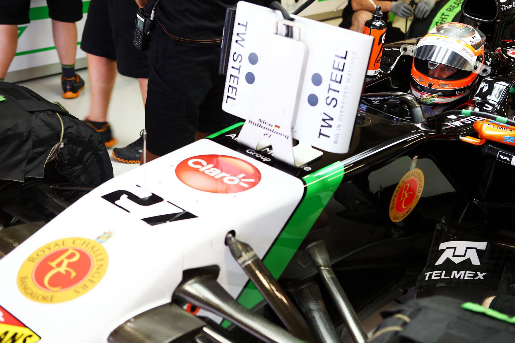 Nico Hulkenberg, Force India, Sochi Autodrom, 2014