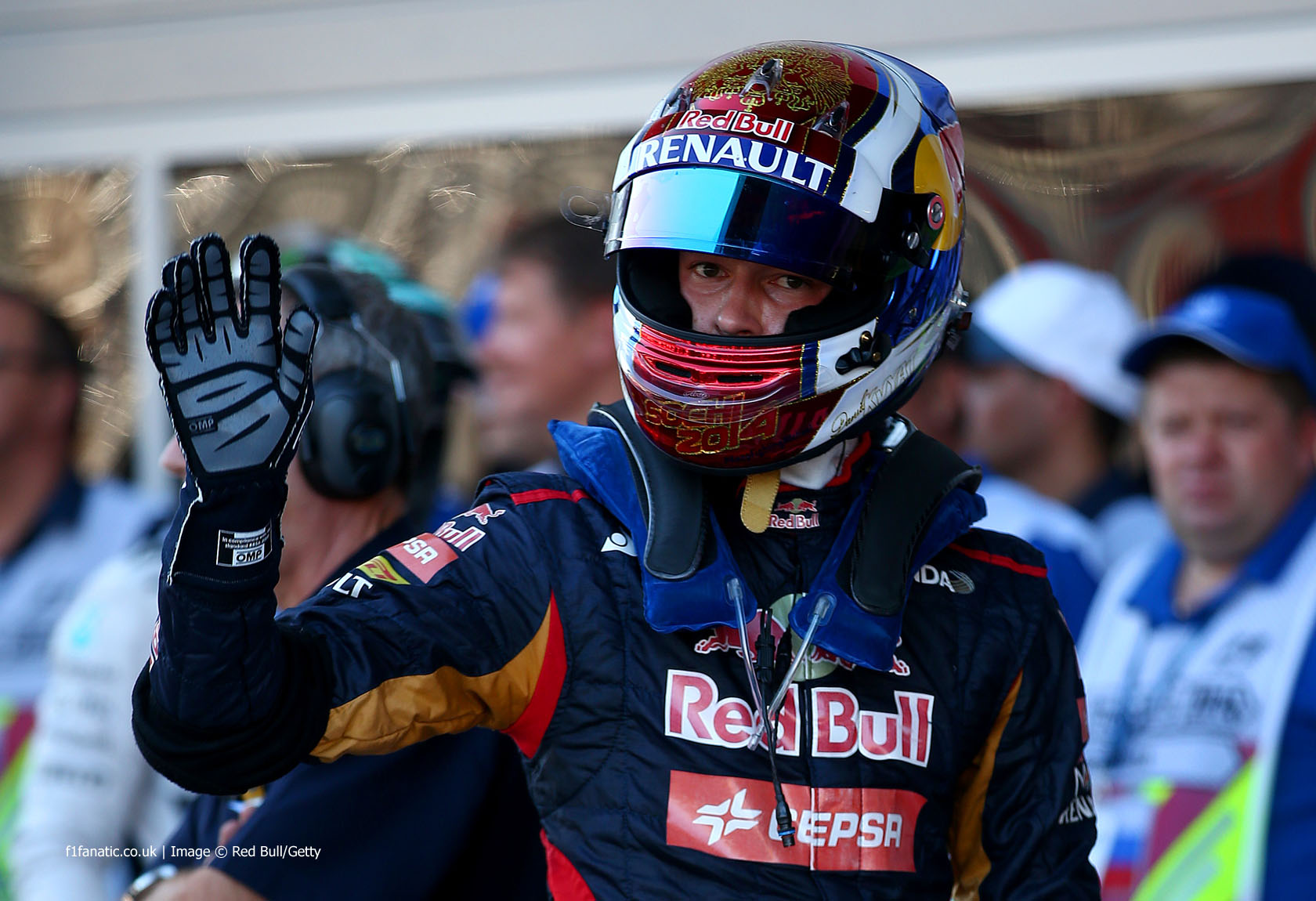Daniil Kvyat, Toro Rosso, Sochi Autodrom, 2014