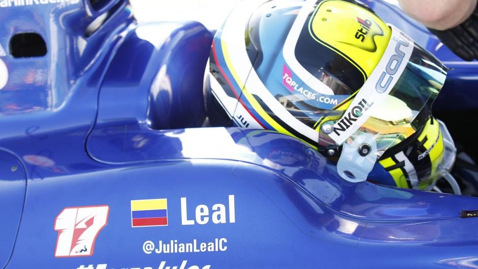 Julian Leal, GP2, Sochi Autodrom, 2014