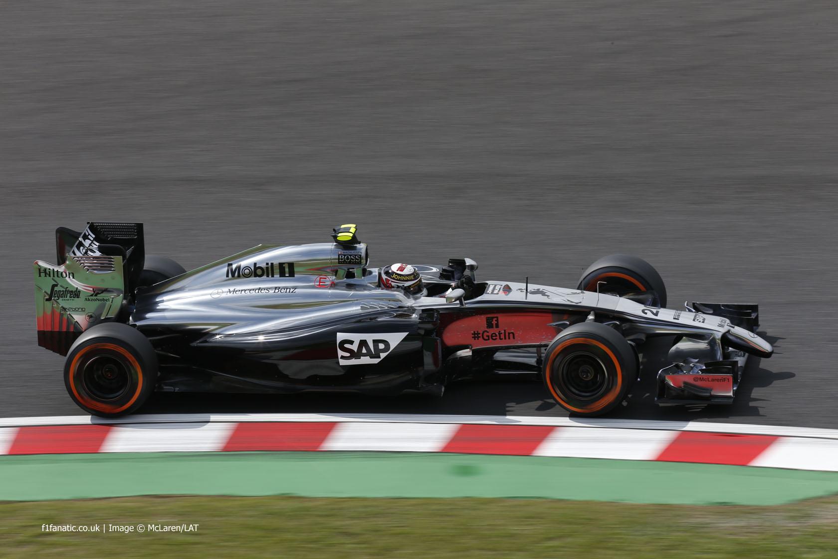 Kevin Magnussen, McLaren, Suzuka, 2014