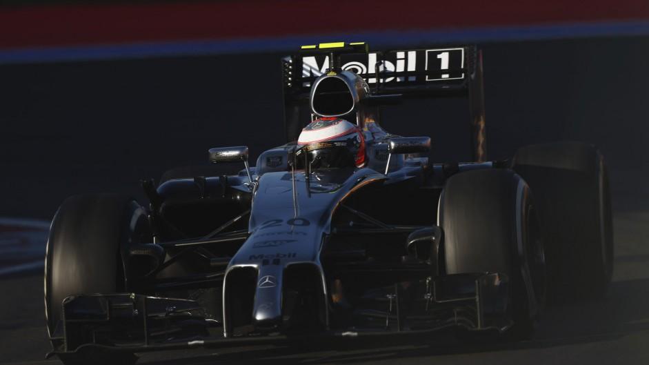 Kevin Magnussen, McLaren, Sochi Autodrom, 2014