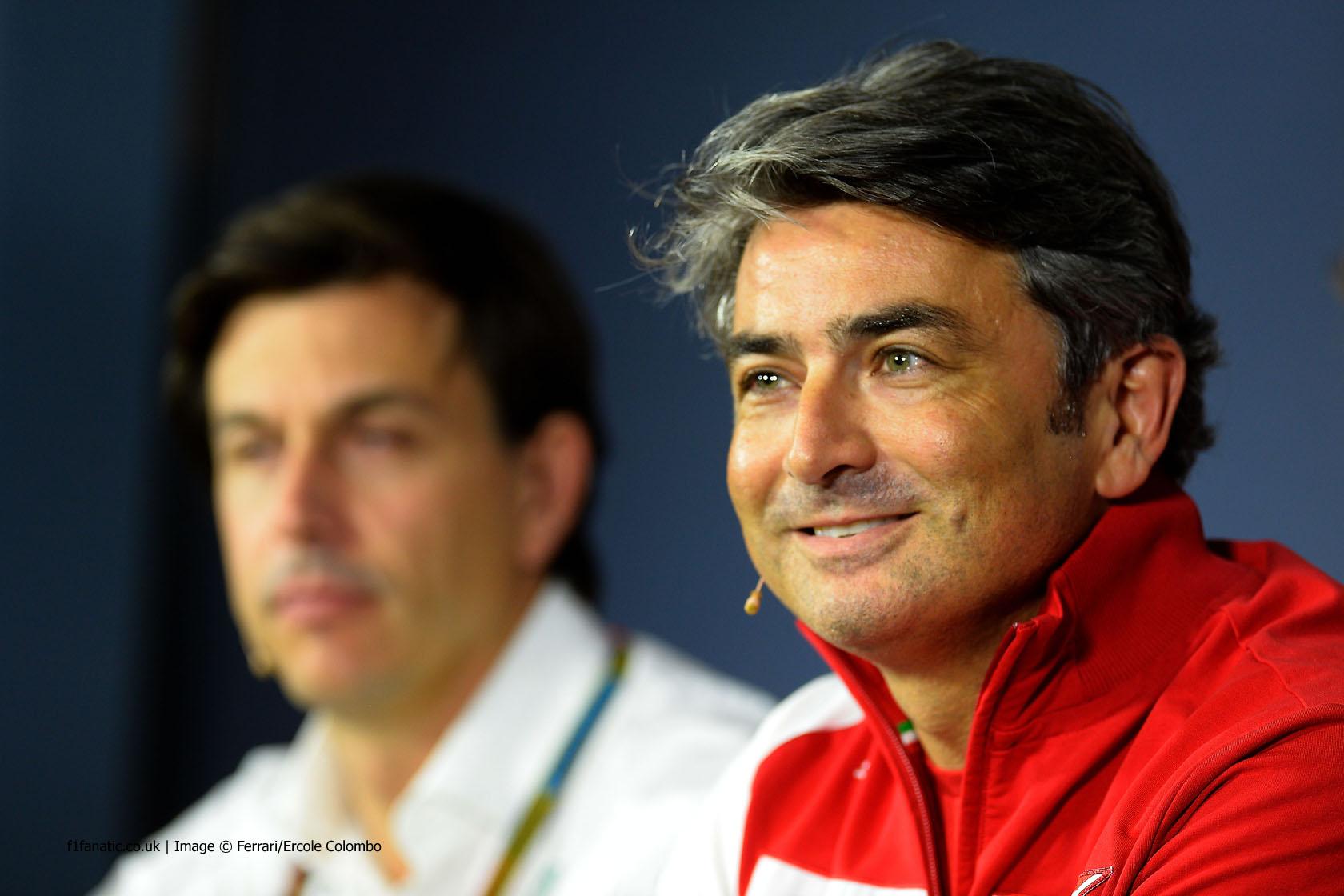 Marco Mattiacci, Ferrari, Monza, 2014