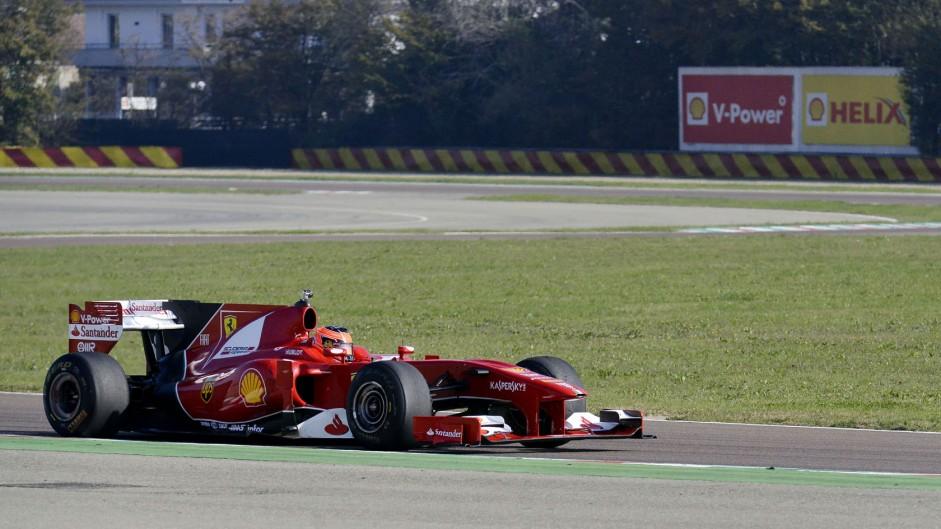 Esteban Ocon, Ferrari, Fiorano, 2014