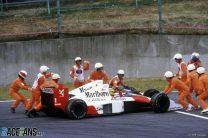 Prost's Suzuka chicanery denies Senna the title