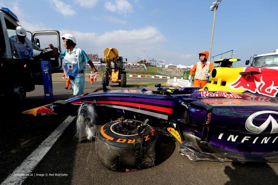 Daniel Ricciardo, Red Bull, Suzuka, 2014
