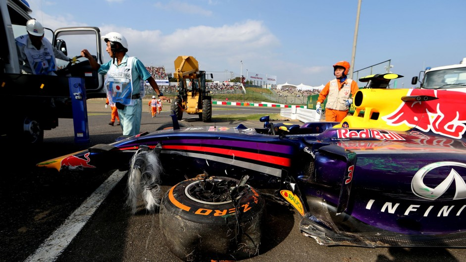 2014 Japanese Grand Prix practice in pictures