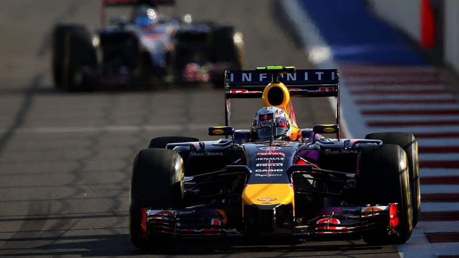 Daniel Ricciardo, Red Bull, Sochi Autodrom, 2014