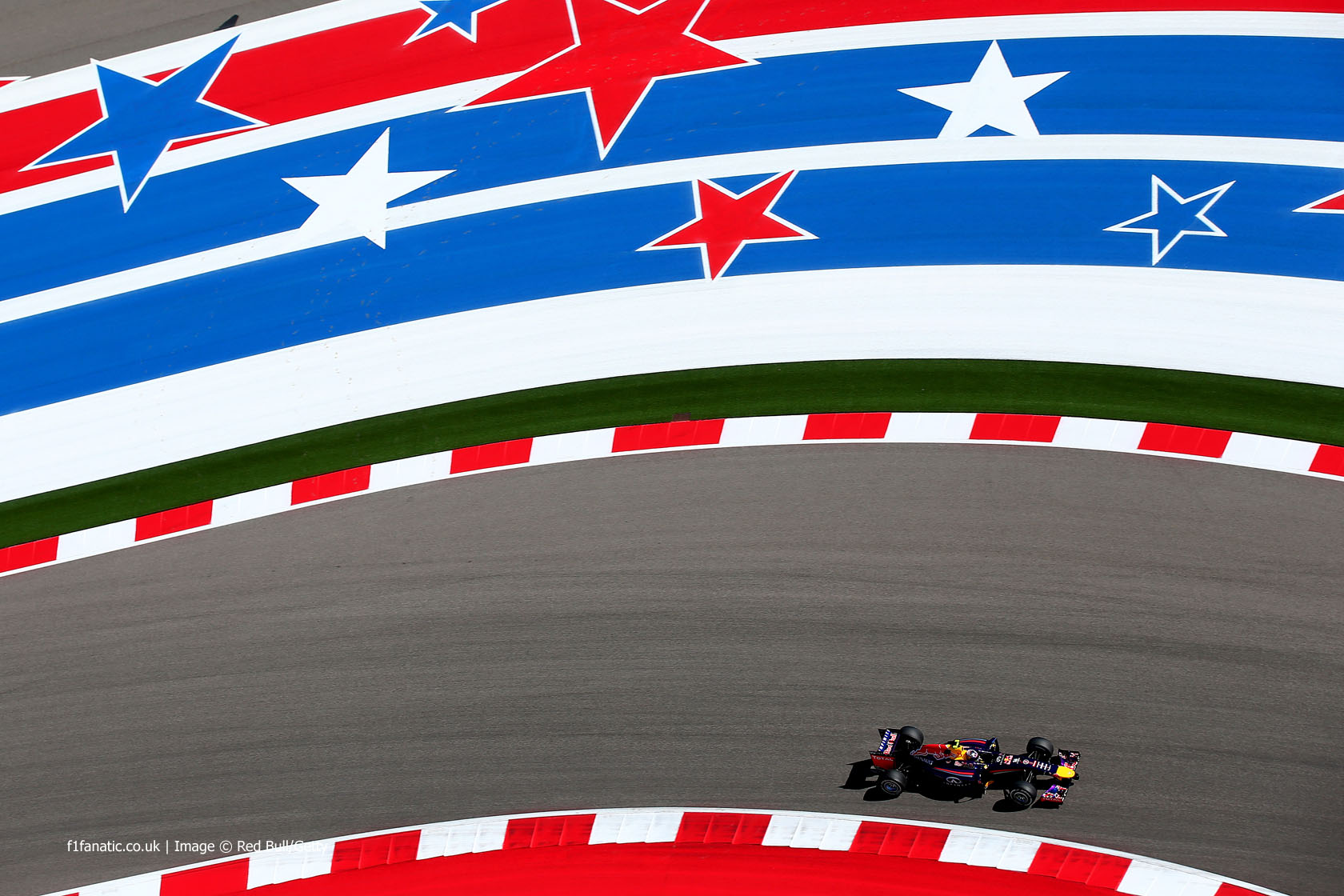 Daniel Ricciardo, Red Bull, Circuit of the Americas, 2014