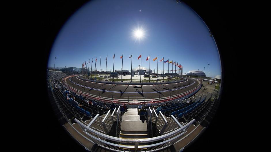2014 Russian Grand Prix fans' video gallery