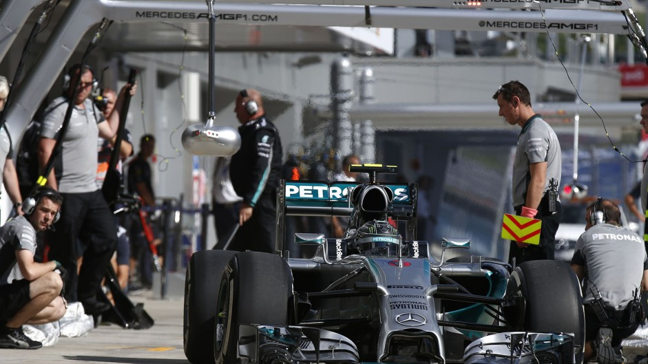 "Rosberg disappointed he ""messed up"""