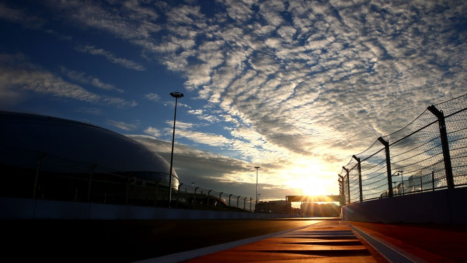 First Russian Grand Prix to be dry and warm