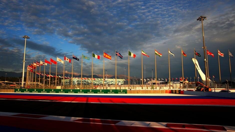 Turn 8, Sochi Autodrom, 2014