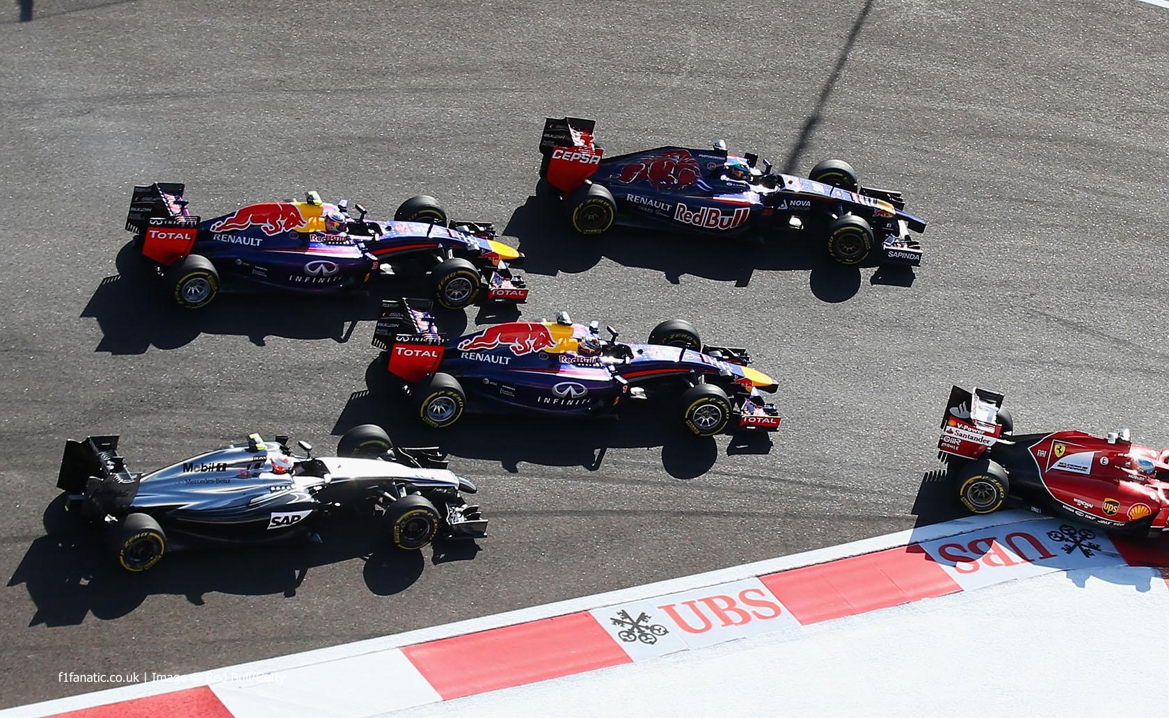 Start, Sochi Autodrom, 2014