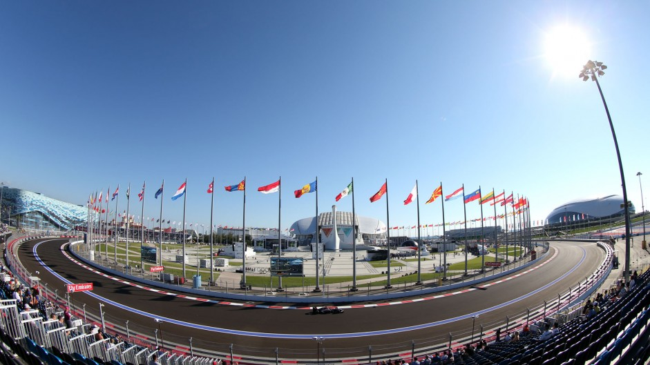 2014 Russian Grand Prix practice in pictures