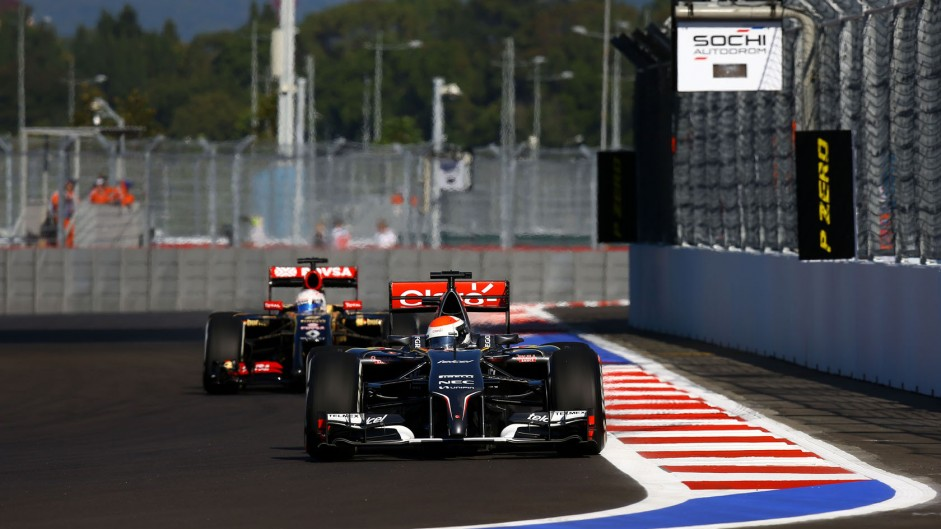 Rate the race: 2014 Russian Grand Prix