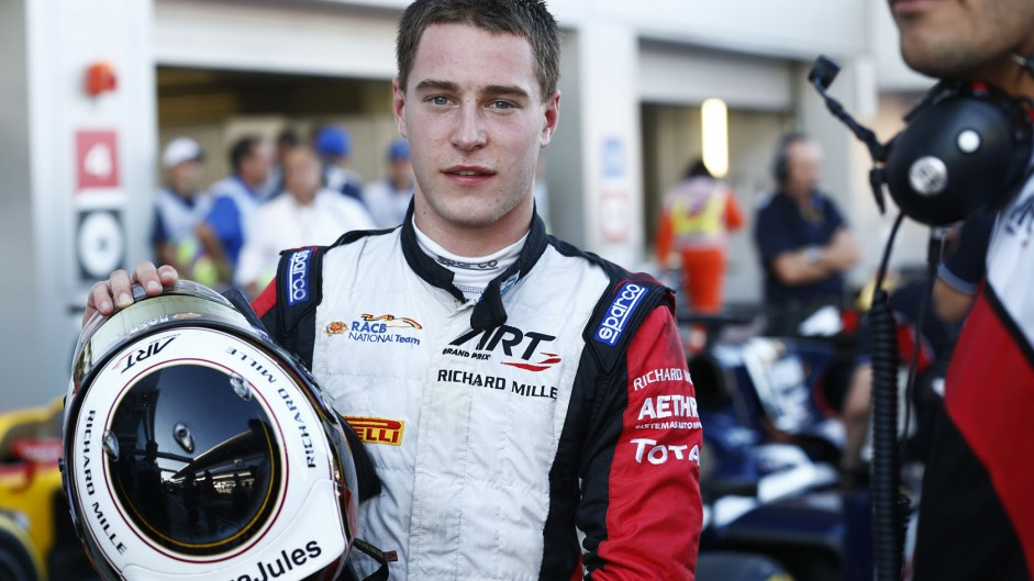 Stoffel Vandoorne, GP2, Sochi Autodrom, 2014