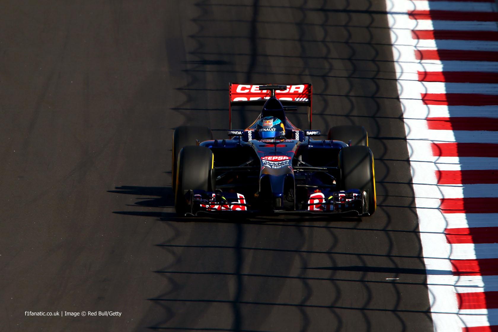 Jean-Eric Vergne, Toro Rosso, Sochi Autodrom, 2014