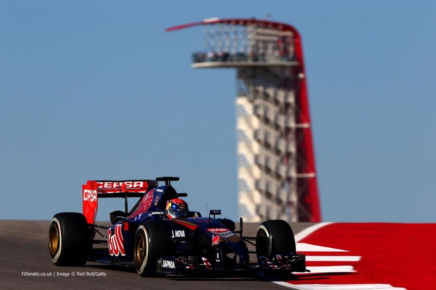 Jean-Eric Vergne, Toro Rosso, Circuit of the Americas, 2014