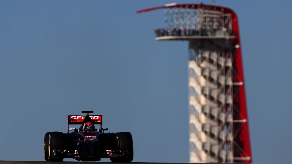 Max Verstappen, Toro Rosso, Circuit of the Americas, 2014