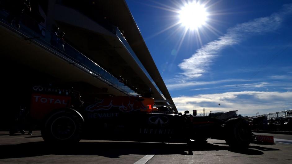 F1 Grand Prix of USA – Practice