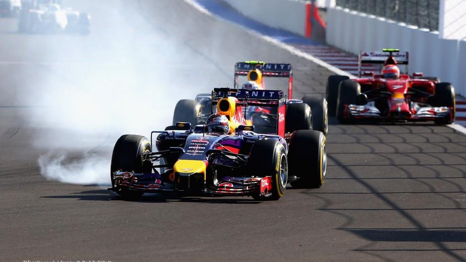Sebastian Vettel, Red Bull, Sochi Autodrom, 2014