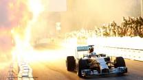 Lewis Hamilton, Mercedes Stars and Cars, Stuttgart, 2014