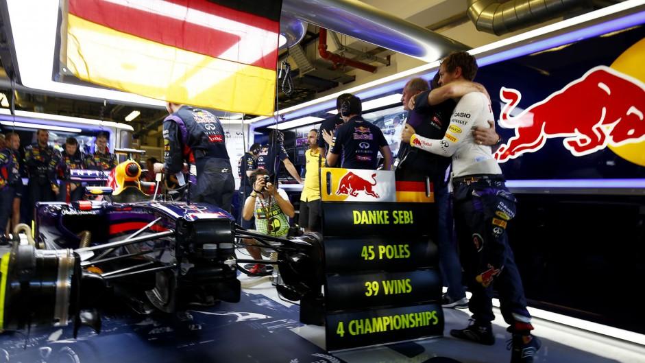 Sebastian Vettel, Red Bull, Yas Marina, 2014