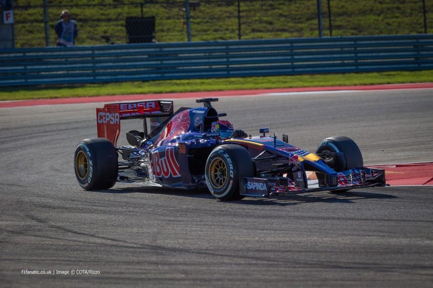 Max Verstappen, Toro Rosso, Circuit of the Americas, 2014