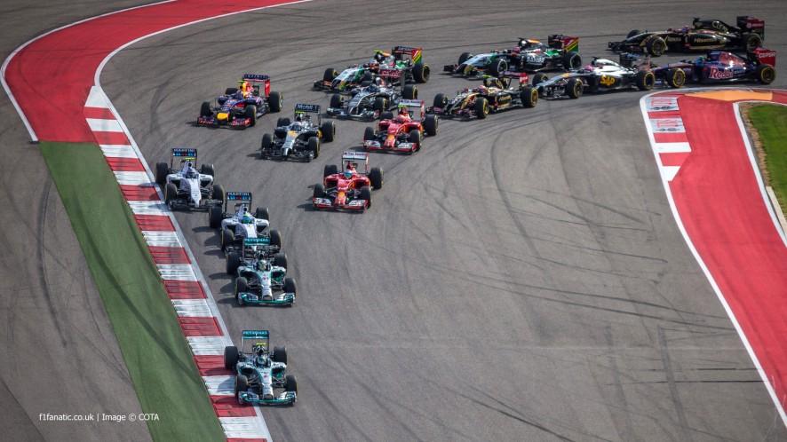 Start, Circuit of the Americas, 2014