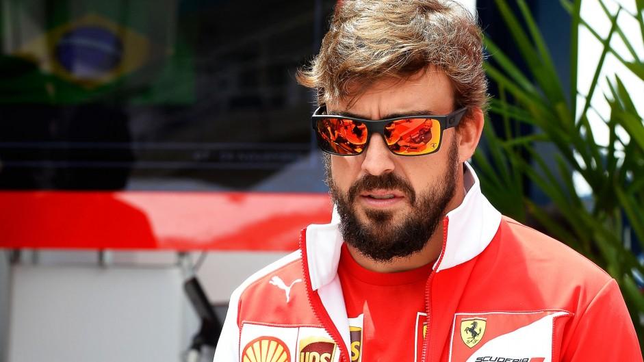 Fernando Alonso, Ferrari, Interlagos, 2014
