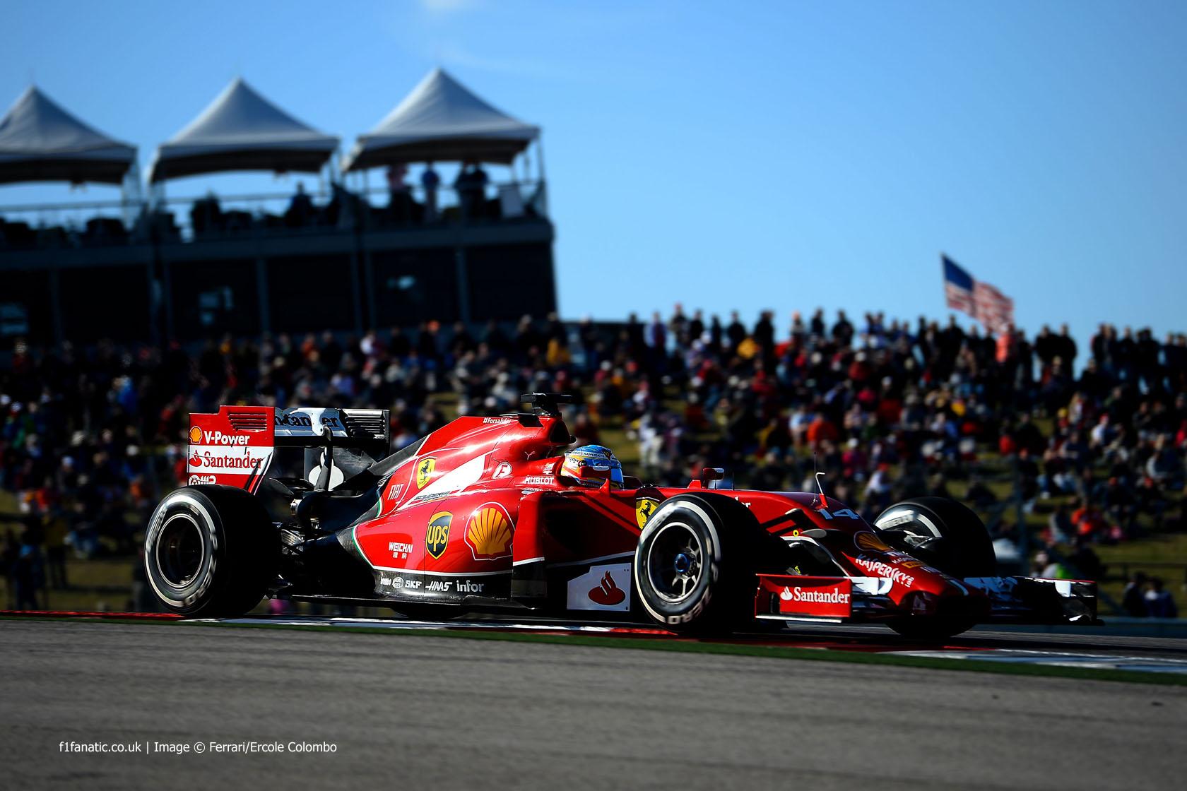 Fernando Alonso, Ferrari, Circuit of the Americas, 2014