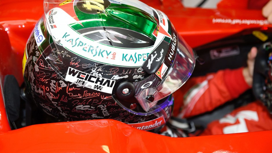 FIA confirms ban on drivers changing helmet designs