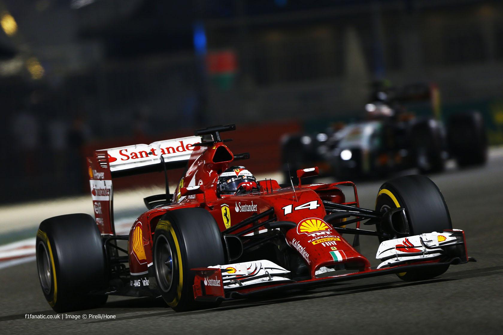 Fernando Alonso, Ferrari, Yas Marina, 2014