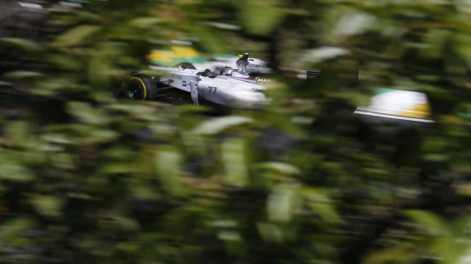 Valtteri Bottas, Williams, Interlagos, 2014