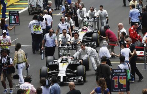 Kevin Magnussen, Jenson Button, McLaren, Interlagos, 2014