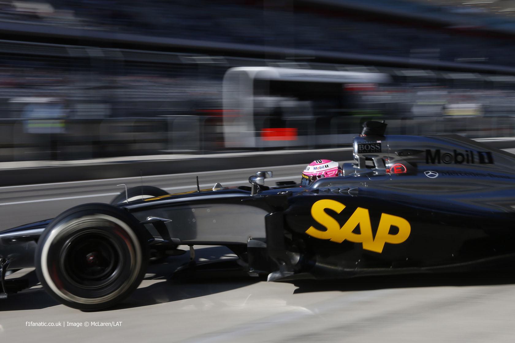 Jenson Button, McLaren, Circuit of the Americas, 2014