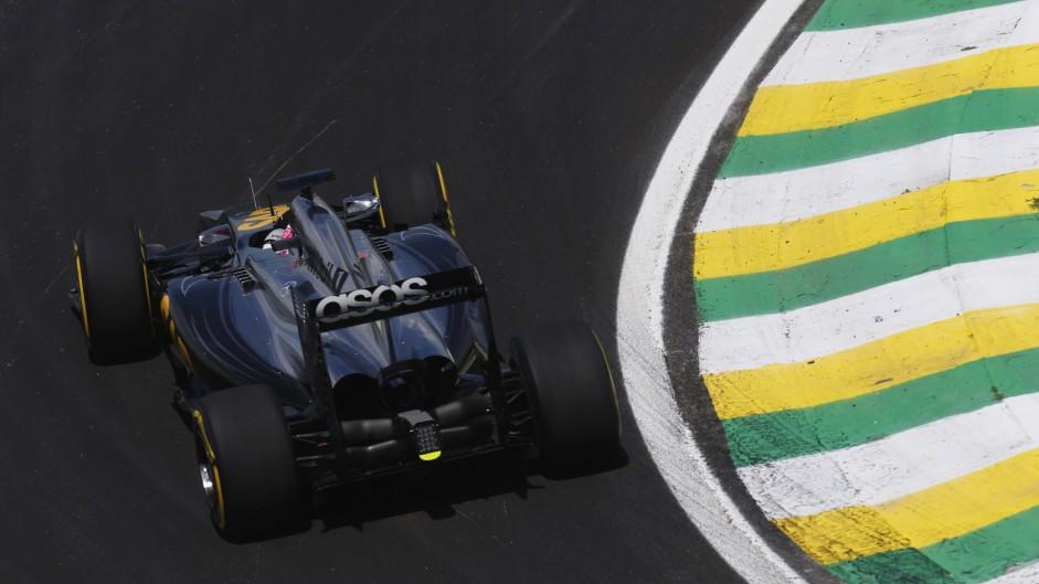 Jenson Button, McLaren, Interlagos, 2014