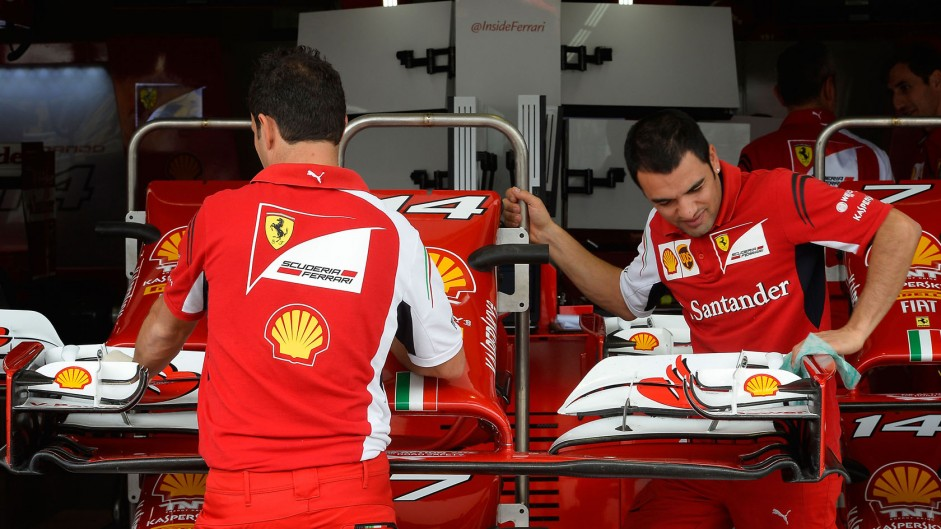 Ferrari, Interlagos, 2014