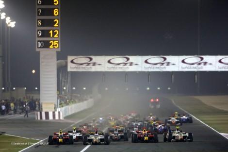 Start, GP2 Asia, Losail International Circuit, 2009