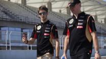 Romain Grosjean, Lotus, Yas Marina, 2014