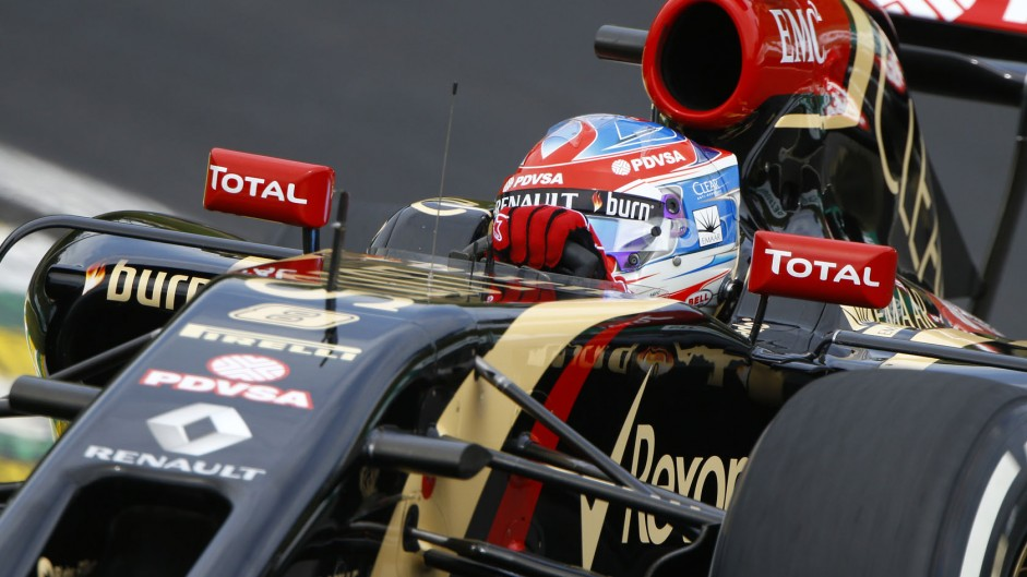 Grosjean remains in unchanged Lotus squad for 2015
