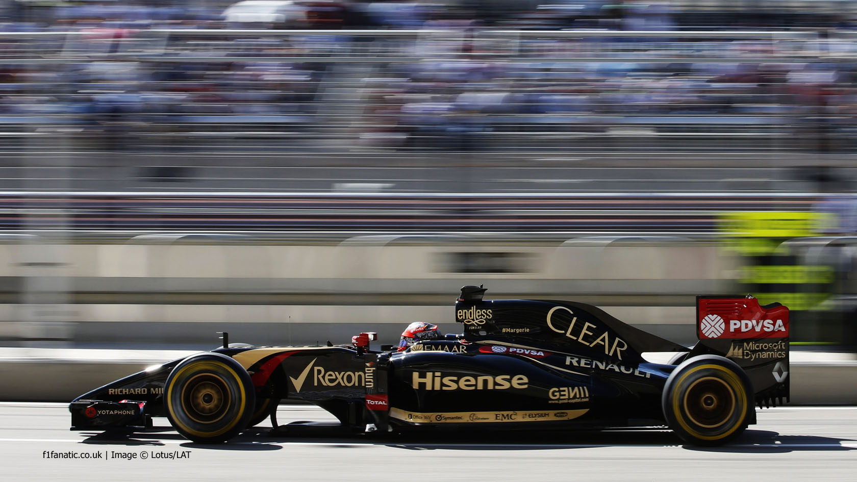Romain Grosjean, Lotus, Circuit of the Americas, 2014