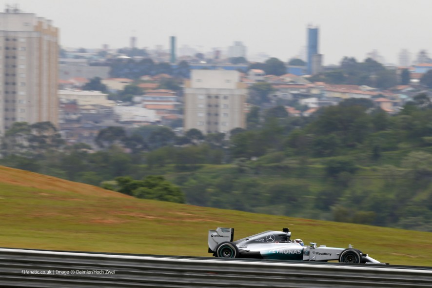Lewis Hamilton, Mercedes, Interlagos, 2014