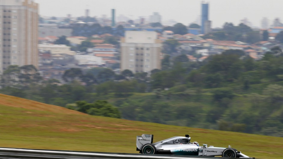 Lewis Hamilton, Mercedes, Interlagos, 2014