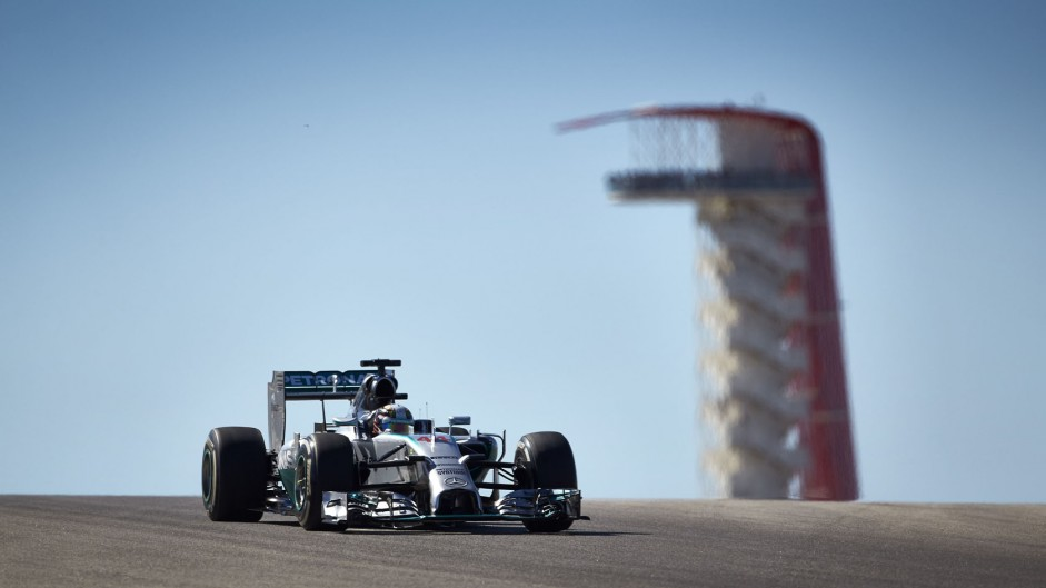 Hamilton prises USA victory from Rosberg's hands