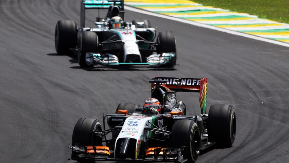 Hulkenberg rues missed chance to fight Ferraris