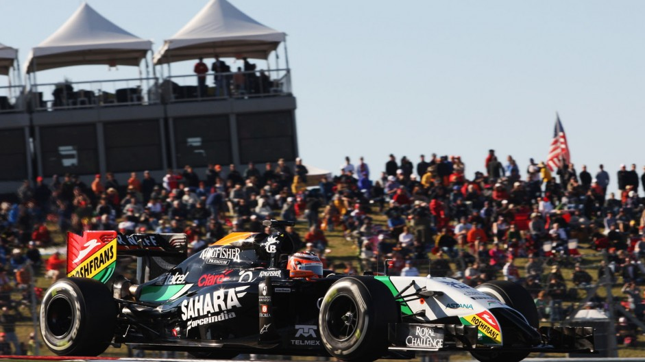 Hulkenberg blames visor tear-off for missing top ten