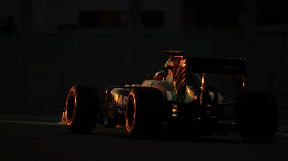 Nico Hulkenberg, Force India, Yas Marina, 2014
