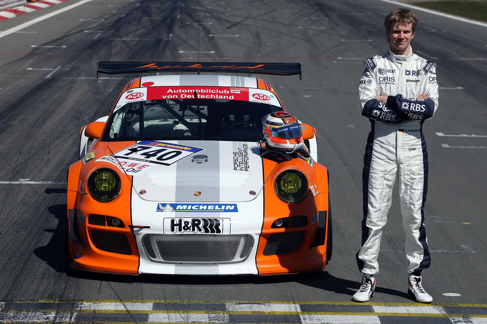 Nico Hulkenberg, Porsche, Nurburgring Nordschleife, 2010