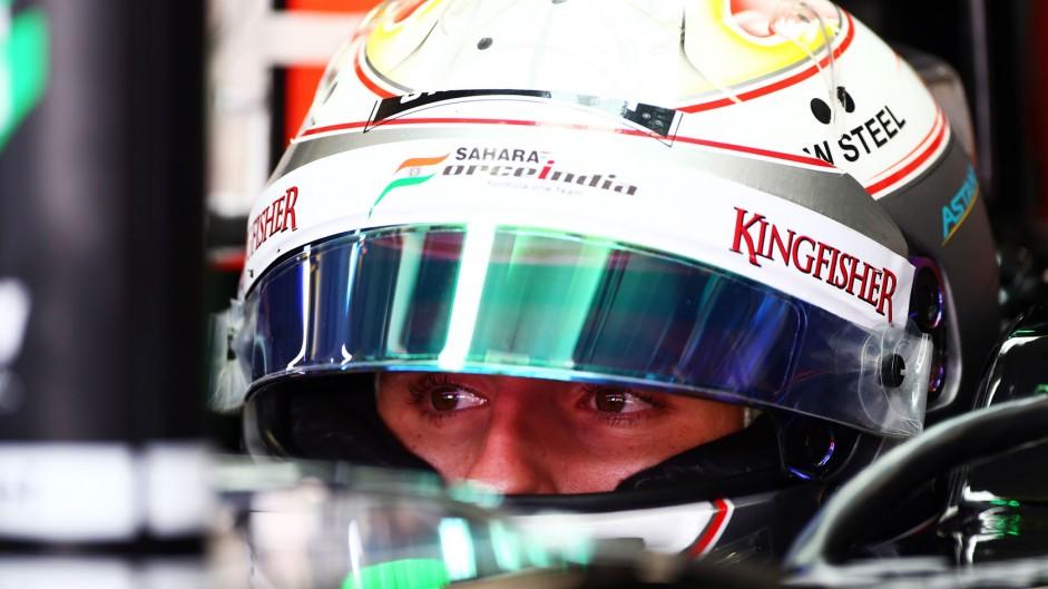 Daniel Juncadella, Force India, Interlagos, 2014